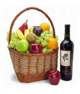 Fruits and Red Wine
